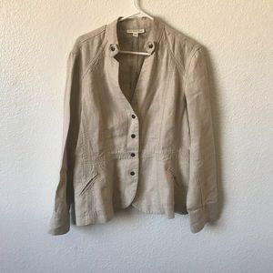 Coldwater Creek Jackets & Coats - Coldwater creek linen jacket